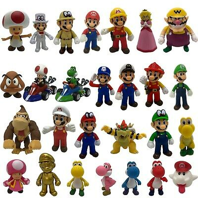 Super Mario Bros. Odyssey Plastic Action Figure Doll Toy