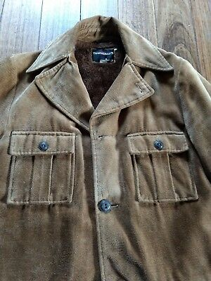 Vintage J.C.Penney Towncraft Mens Sherpa Jacket (Circa 1960s) - Size M (Long)
