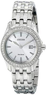Citizen Eco-Drive Women's Crystal Accents Watch # EW1901-58A