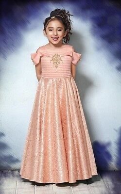 8bd51df50170 Latest Kids Gown Dress Children Wear Indian Party Frocks Designer Gown For  Girls