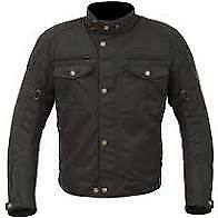 Barton Wax Jacket Black L