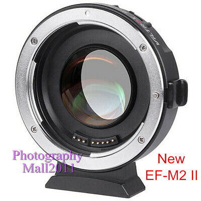 Viltrox EF-M2 II Auto Focus Adapter 0.71x Aperture for Canon EOS EF Lens to M4/3