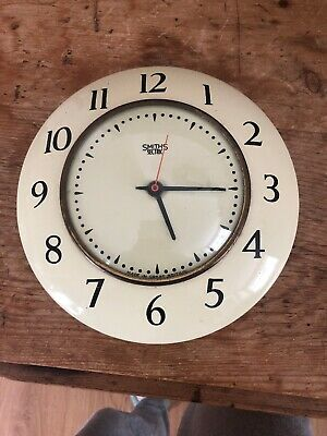 Vintage Smiths Sectric Kitchen Clock 50s 60s Electric