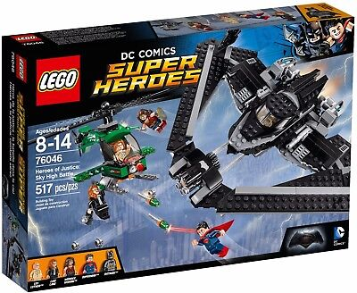 LEGO DC Comics Super Heroes 76046 Heroes Of Justice: Sky High Battle New Sealed