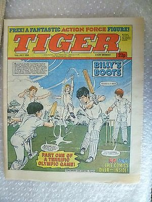 Comic- Tiger , 14th July 1984- Billy's Boots