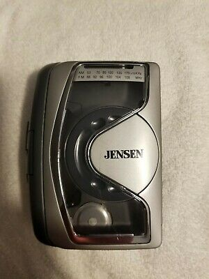 Jensen SCR68 Portable Stereo Cassette Player with AM/FM Radio