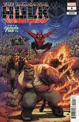 IMMORTAL HULK ISSUE 4 - SOLD OUT FIRST 1st PRINT - ARTHUR ADAMS FF VARIANT