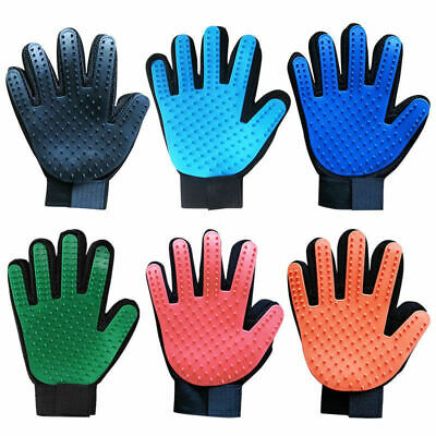 Pet Dog Cat Grooming Glove Dirt Hair Remover Brush Glove for Gentle Deshedding