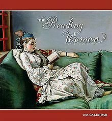 2016 The Reading Woman Wall Calendar by Pomegranate   Book   condition very good
