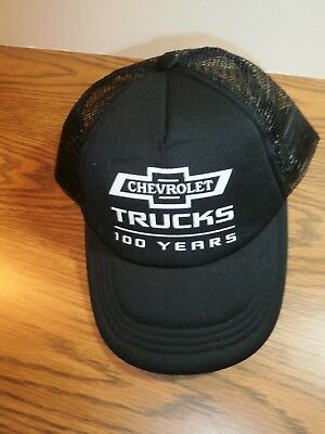866f4eafa CHEVY TRUCKS LOGO Hat Cap Mesh Snapback Adjustable Black - $31.66 ...