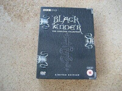Black Adder The Complete Collection Limited Edition DVD.