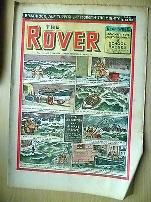 Comic-THE ROVER, No.1515, 10 July 1954; 6 STAR STORIES ONE PICTURE STORY & PICTU