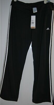 BNWT LADIES ADIDAS REGULAR LEG SLIM FIT LEGGINGS FITNESS PANTS  LARGE UK 16-18 Clothes, Shoes & Accessories