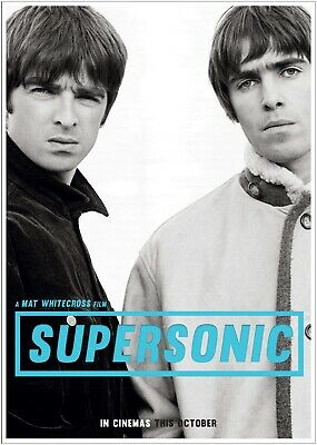 Oasis Supersonic Music Poster Art Large Print A0 A1 A2 A3 A4 Maxi