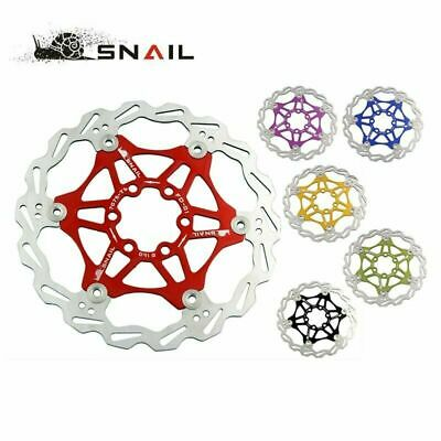 Snail Floating Rotors MTB Disc for Shimano 160/180/203mm w/ 6 Bolt