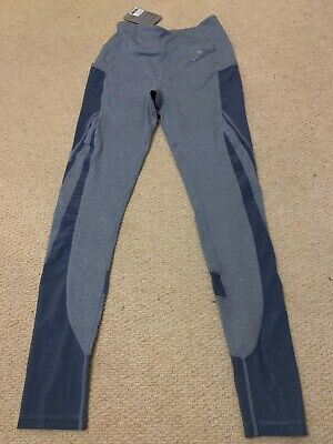c3ac7bd0f89bd BNWT gymshark sleek sculpture legging II - steel blue marl size small