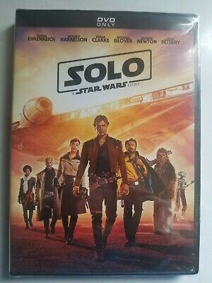 Solo A Star Wars Story DVD Brand New