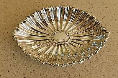 Rare 'seeing eye' silver dish by George Jackson & David Fullerton - London 1901