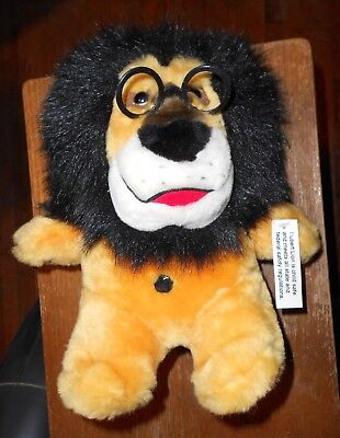 Hubert The Lion Harris Bank Plush And Bank With Tag Banking & Insurance