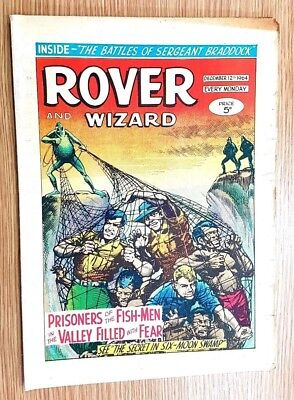 Rover and Wizard 12th December 1964