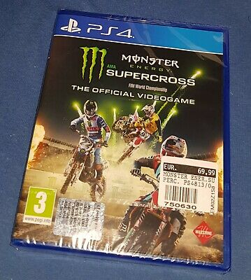 Monster Energy Supercross The Official Videogame PS4 PAL ITA Motocross