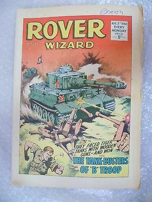 Comic- Rover and Wizard 3rd Aug 1968