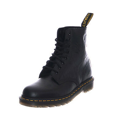 dbe7dc4a60 DR. MARTENS X Bape Black Smooth Emboss 1490 Boot Size 10 Us ...