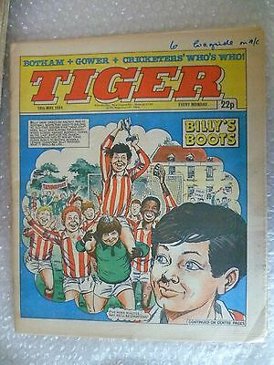 Comic- Tiger , 19th May 1984- BILLY'S BOOTS