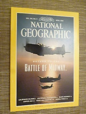 National Geographic- BATTLE OF MIDWAY - APRIL 1999