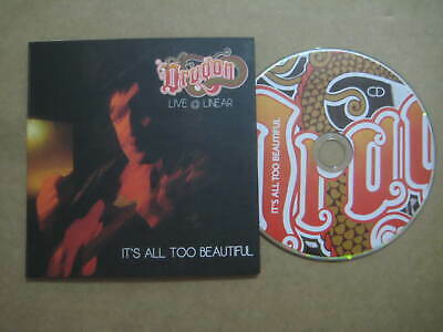 DRAGON It's All To Beautiful - Live AUSSIE CD 2011 - OZMO107 - MARK WILLIAMS
