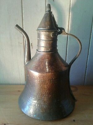 Early 19tb century North African Islamic Bedouin hand crafted water kettle