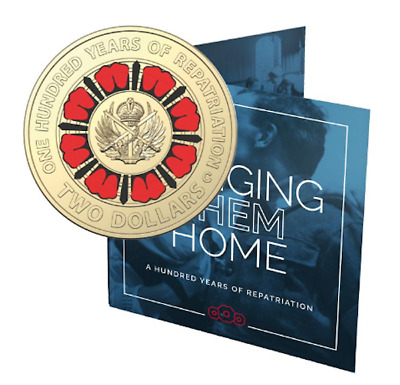 2019 $2 Bringing Them Home - Repatriation C Mintmark Unc Coin