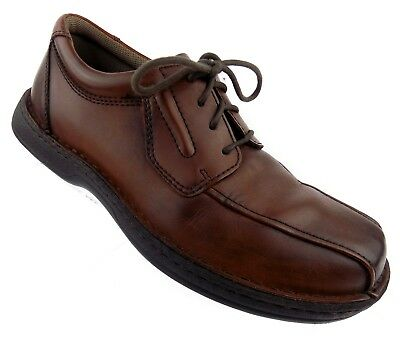 streetcars brown leather lace up men's shoes 105 m casual