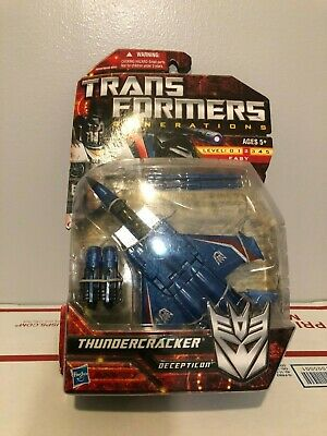 Transformers Generations Deluxe THUNDERCRACKER IDW Comic; MOSC New 2013 Hasbro