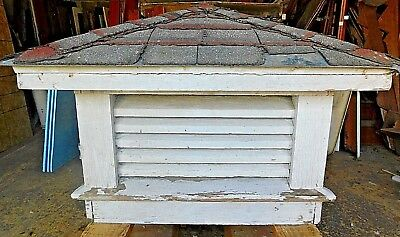 Antique Victorian Style House / Barn Roof Cupola - C. 1895 Architectural Salvage