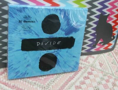 "Ed Sheeran New Sealed Fast Freepost ""Deluxe: Divide÷"" CD 4 Bonus Tracks ShapeYou"