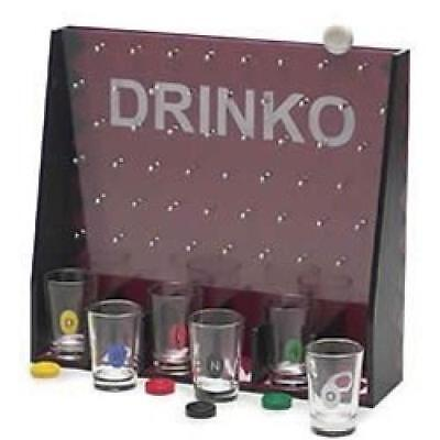 Drinko, The Drinking Game of Chance, Ages 21+, Shocking Fun