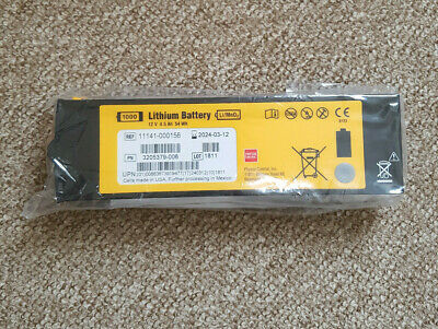 Physio-Control LIFEPAK 1000 Replacement Lithium AED Battery (Use by 2024)