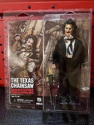 """NECA Texas Chainsaw Massacre Clothed 8"""" Leatherface Action Figure"""