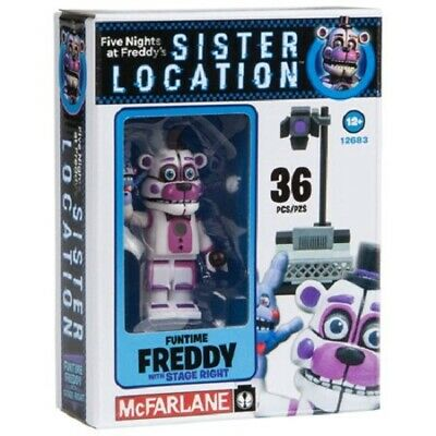 Funtime Freddy Stage Right Construction Kit  Five Nights At Freddys new