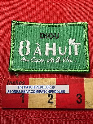8 A Huit FRANCE PATCH Grocery Supermarket For Food In Diou France 62T5