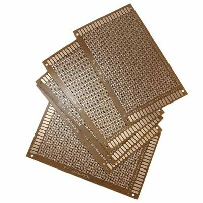 5PCS SOLDER FINISHED Prototype Paper PCB For DIY Circuit Board