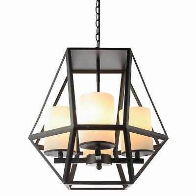 NEW Black Ipswitch 4 Light Pendant - V & M Imports,Ceiling Fixtures