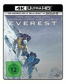 Everest  (4K Ultra HD) (+ Blu-ray) by Kormakur, ...   DVD   condition acceptable