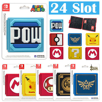 For Nintendo Switch Game Card Case Holder Storage Box Carry Protector Cover