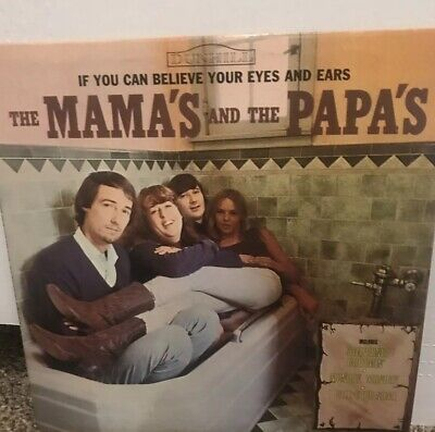 8d5a1e54f4 The Mamas And The Papas If You Can Believe Your LP 1966 pressing. Good Cond