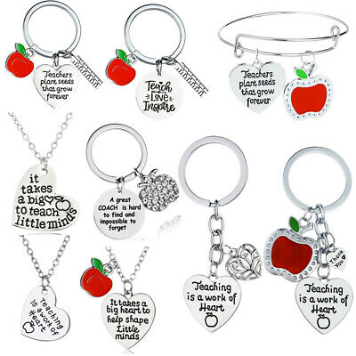 Personalised Teacher Gifts For Teachers Thank You Nursery Keyring Gifts Keychain