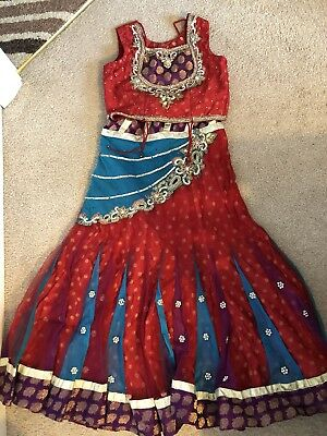 childrens Indian  Costume Size 7-8