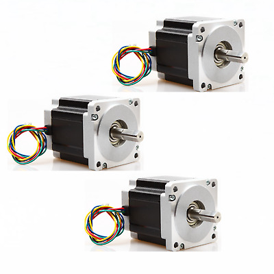 3PC Nema34 Stepper Motor 965 oz.in 5.6A 4leads 34HS9456 CNC kits LONGS