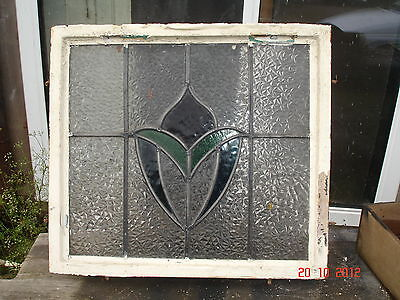Reclaimed Stained Glass Panel